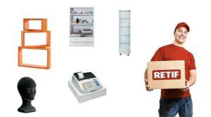 retif attrezzature per negozi