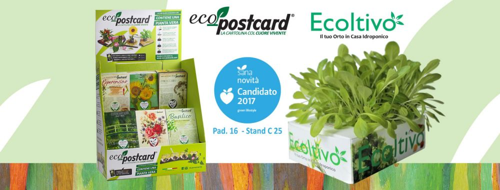 ecopostcard ecoltivo sana 2017