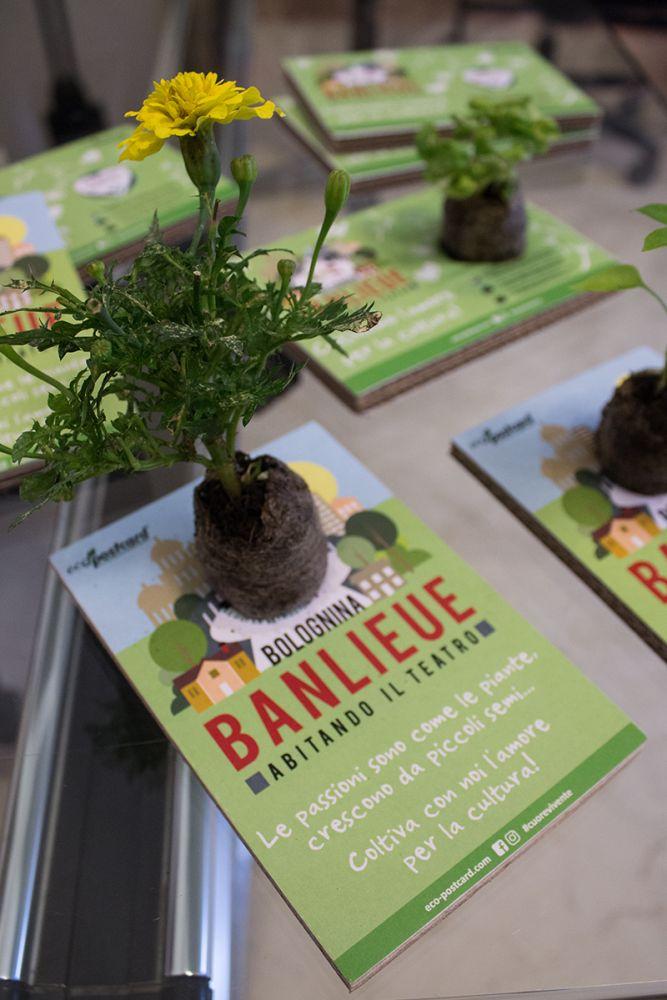 Eco-Postcard Bolognina Banlieue