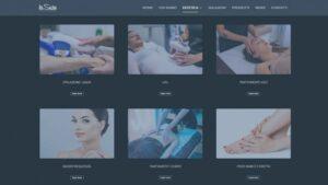 restyling sito web centro estetico bologna