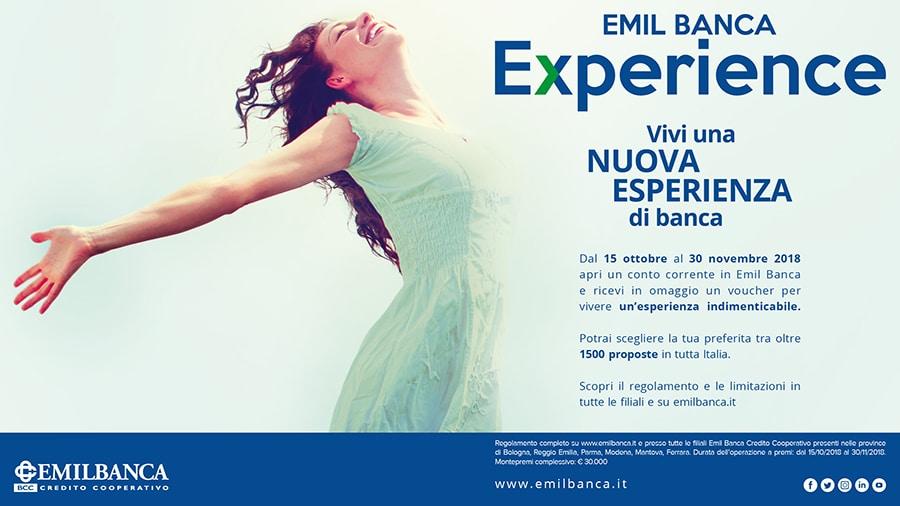 operazione a premi emil banca experience