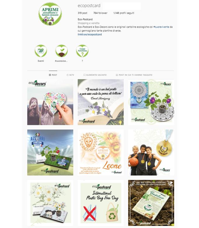 Feed instagram Eco-Postcard (2)