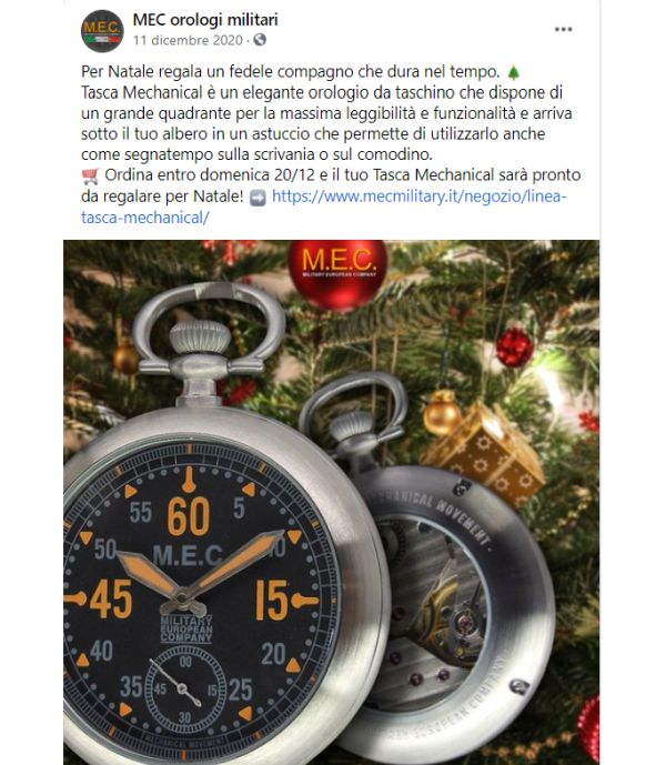 Post facebook Mec Military