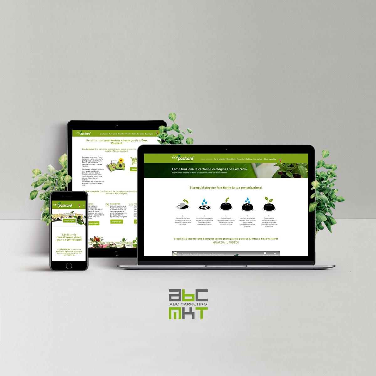 eco-postcard sito IG